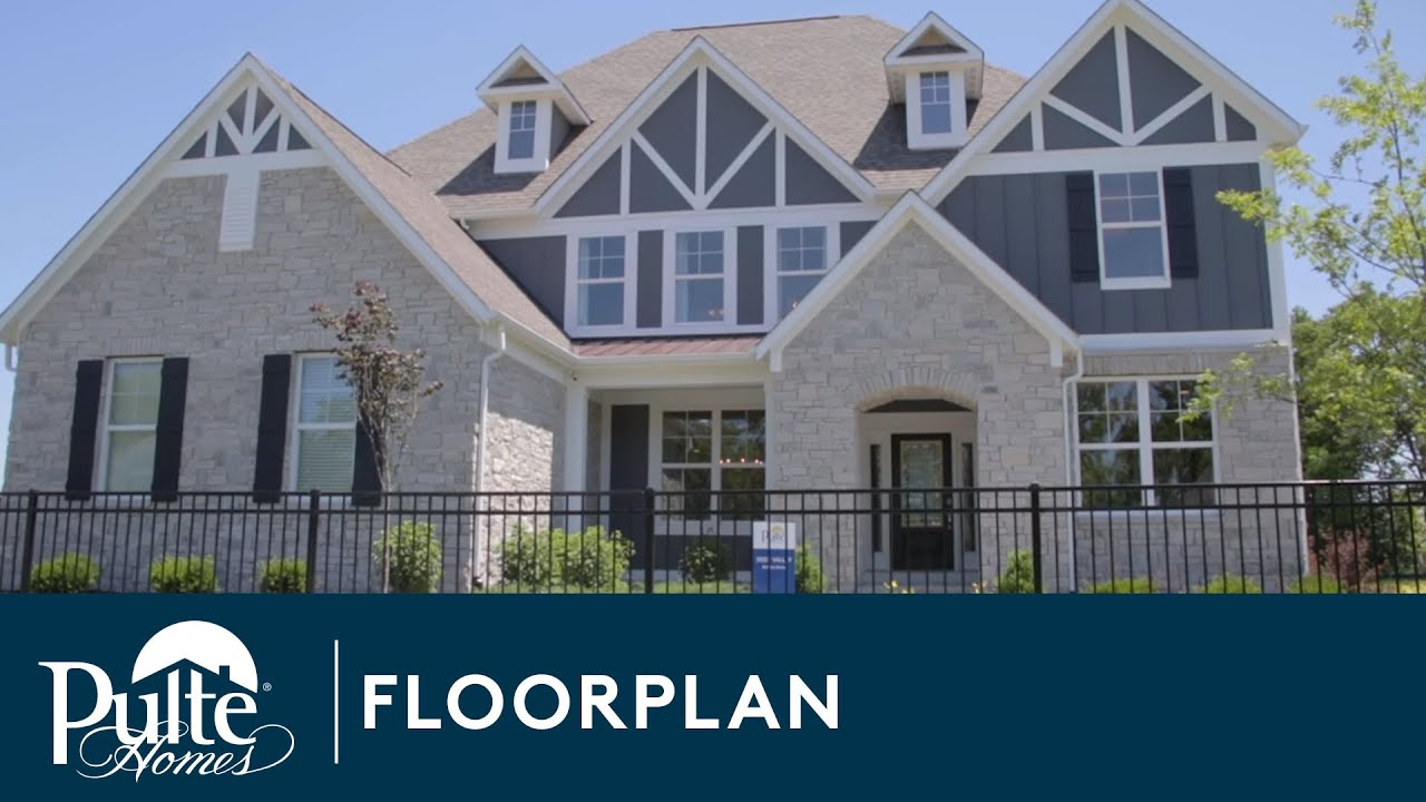 New homes by pulte homes deer valley floorplan youtube for Home by home