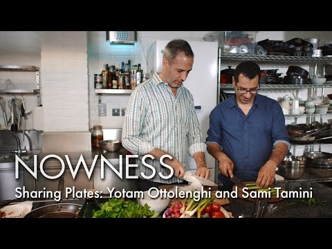 Sharing Plates with Yotam Ottolenghi and Sami Tamini
