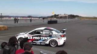 [HD]Mitsubishi Lancer Evolution X Demo Drive at TwinRing Motegi Circuit. thumbnail