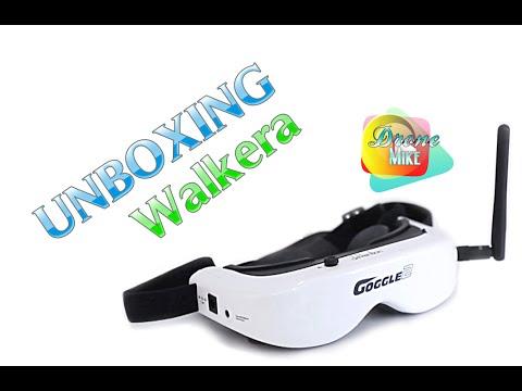 Occhiali FPV Goggle 4 drone Walkera F210 Video 5,8 Ghz diretta Runner 250
