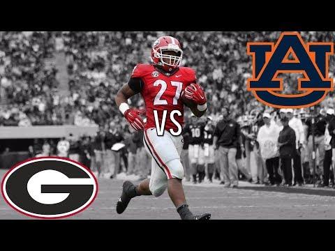 "Auburn VS Georgia 2017 Hype   ""Watch Me""   SEC Championship"