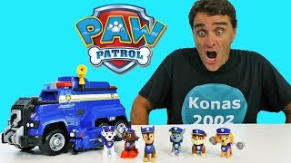 Paw Patrol Police Pups + Ultimate Police Cruiser !    Toy Review    Konas2002