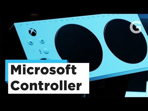 Microsoft's New Xbox Adaptive Controller