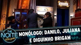 Baixar Monólogo: Danilo, Juliano e Diguinho brigam | The Noite (11/08/17)