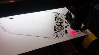 Лазерная резка приглашений. Laser cut wedding cards.(Новинка. Бумага сирио 300 гр. Типография Калибр. http://kalibr-sochi.ru., 2016-12-08T21:45:38.000Z)