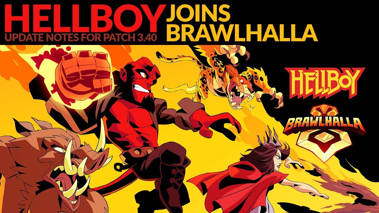 Hellboy Joins Brawlhalla – Patch 3 40 - Brawlhalla
