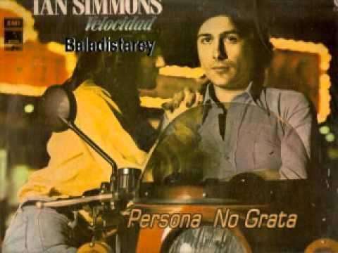 Persona No Grata Ian Simmons