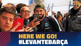 Trip to Valencia ahead of Levante match