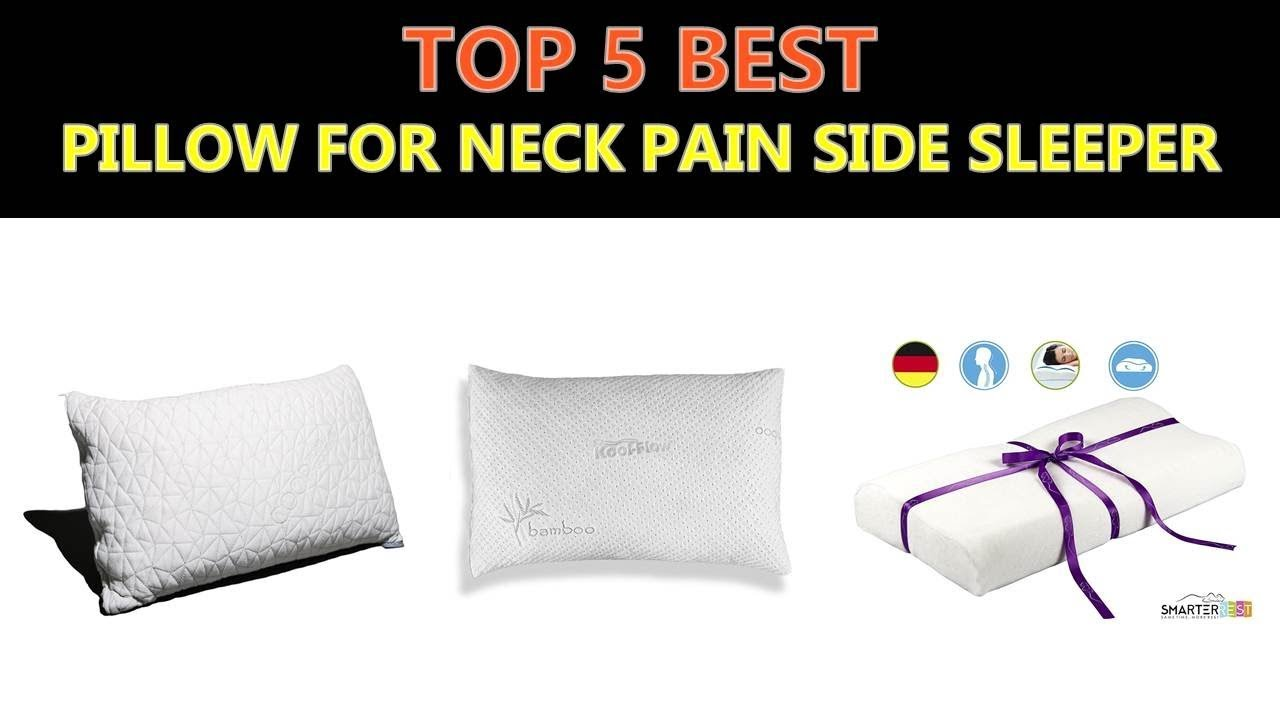 side pillow neck amazon to for best on sleeper pain sleepers place and buy pillows back