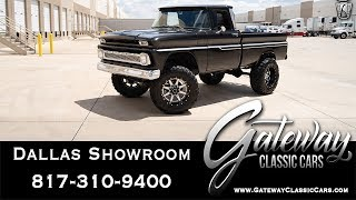 1963 Chevrolet C10 Shortbed 4x4 - Gateway Classic Cars of Dallas #963
