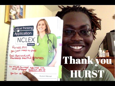 NCLEX and Hurst Review **tips in description***