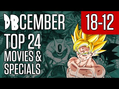 DBcember: Top 24 Movies and Specials: 18-12