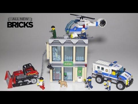 Lego City 60140 Bulldozer Break-In Speed Build