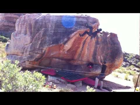 Boulder - Vanity (V7) Danilo @ Rocklands, South Africa
