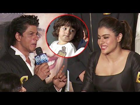 AbRam hates 'SRK-Kajol' pairing, know why [Video]