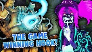 THE GAME WINNING HOOK!! - League Of Legends Highlights #32