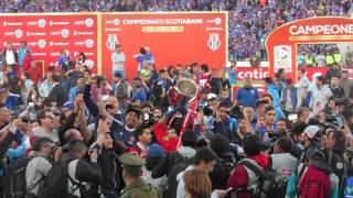 Minutos finales U. de Chile vs San Luis en Sintonía Azul - Relato de Pepe Ormazábal
