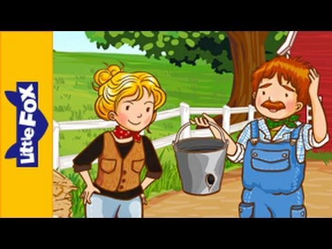 There's a Hole in the Bucket | Nursery Rhymes by Little Fox