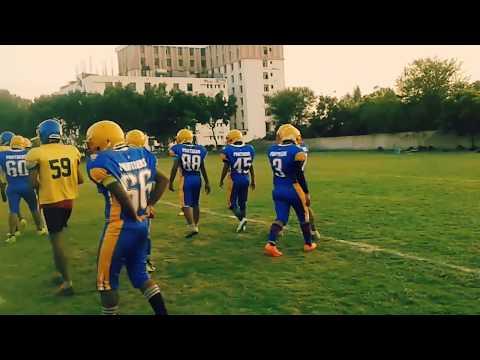 American football match poornima panthers vs JNU