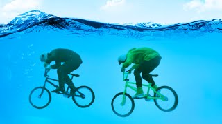EXTREME UNDERWATER BIKE RACE! (GTA 5 Funny Moments)