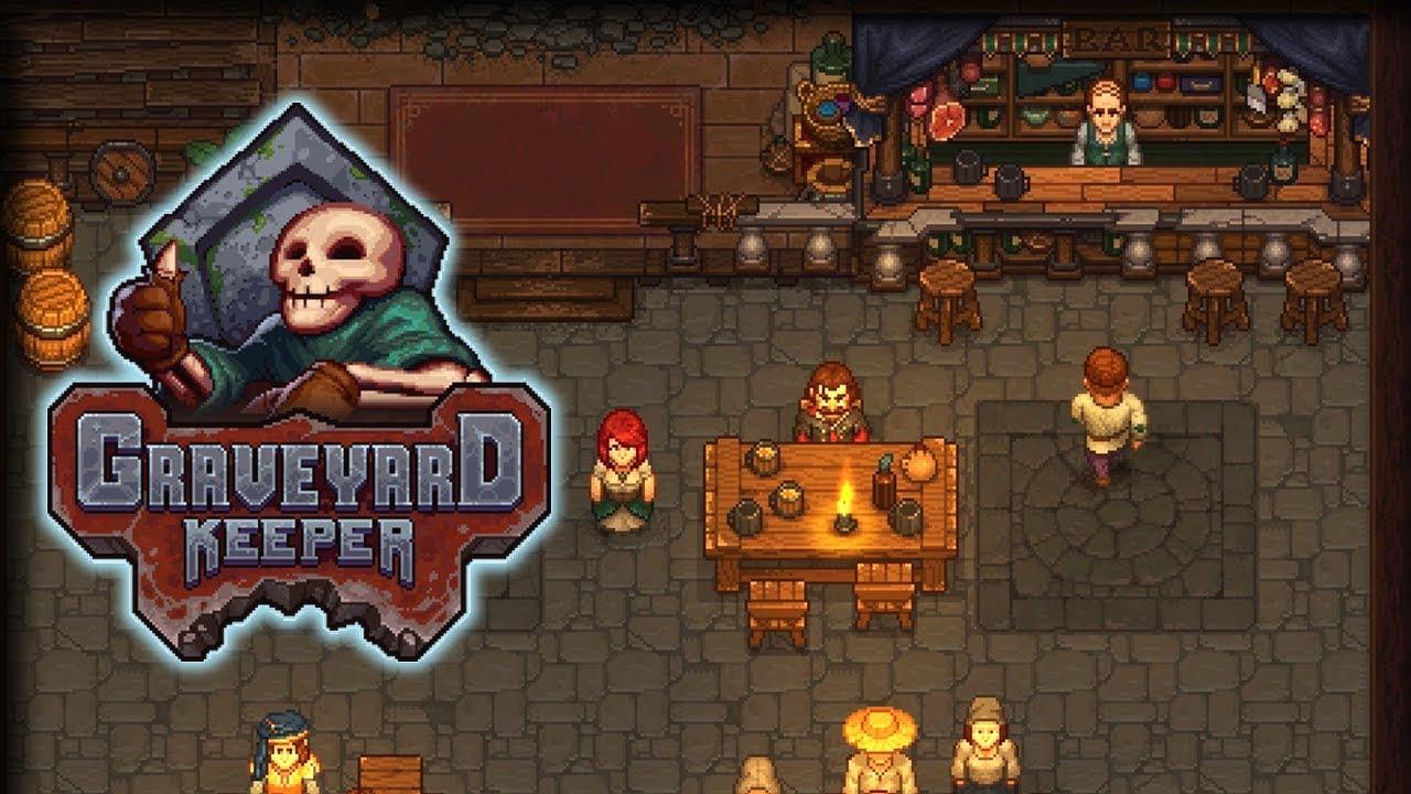 Secret Stamp Graveyard Keeper Gameplay Lets Play Part 27
