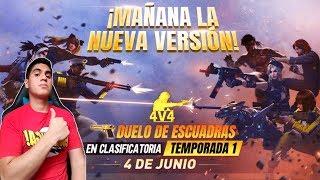 EVENTO NUEVA VERSION FREE FIRE GANA 420 DMTS O UN PASE ELITE EN SALAS PRIVADAS Y DUELO DE ESCUADRAS