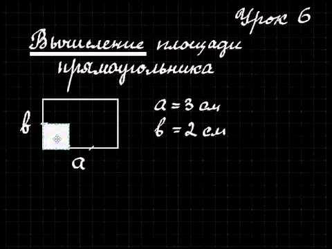 Как рассчитать квадратуру прямоугольника