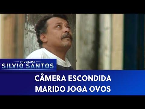 Câmera Escondida (09/10/16) - Marido Joga Ovos