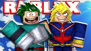 My Hero Academia em Roblox | JeromeASF Roblox