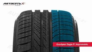 Обзор летней шины Goodyear Eagle F1 Asymmetric ● Автосеть ●