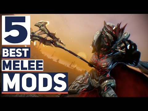 Warframe: 5 Best Melee Mods New Players Should Aim For.