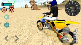 Motocross Beach Jumping 3D - Android GamePlay HD - Extreme Motor Bike Stunts Games
