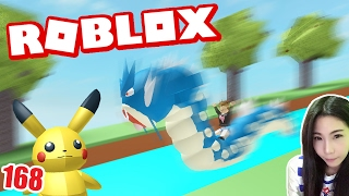 #168 Slide Down with fresh Roblox Pokemon cruise with pica ju (DevilMeiji)