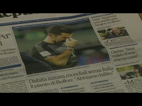 Italy laments World Cup 'apocalypse'