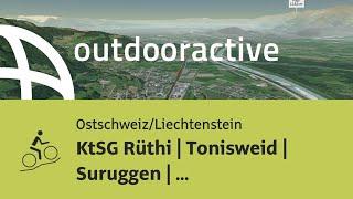Mountainbike-tour in der Ostschweiz/Liechtenstein: KtSG Rüthi | Tonisweid | Suruggen | Altstätten