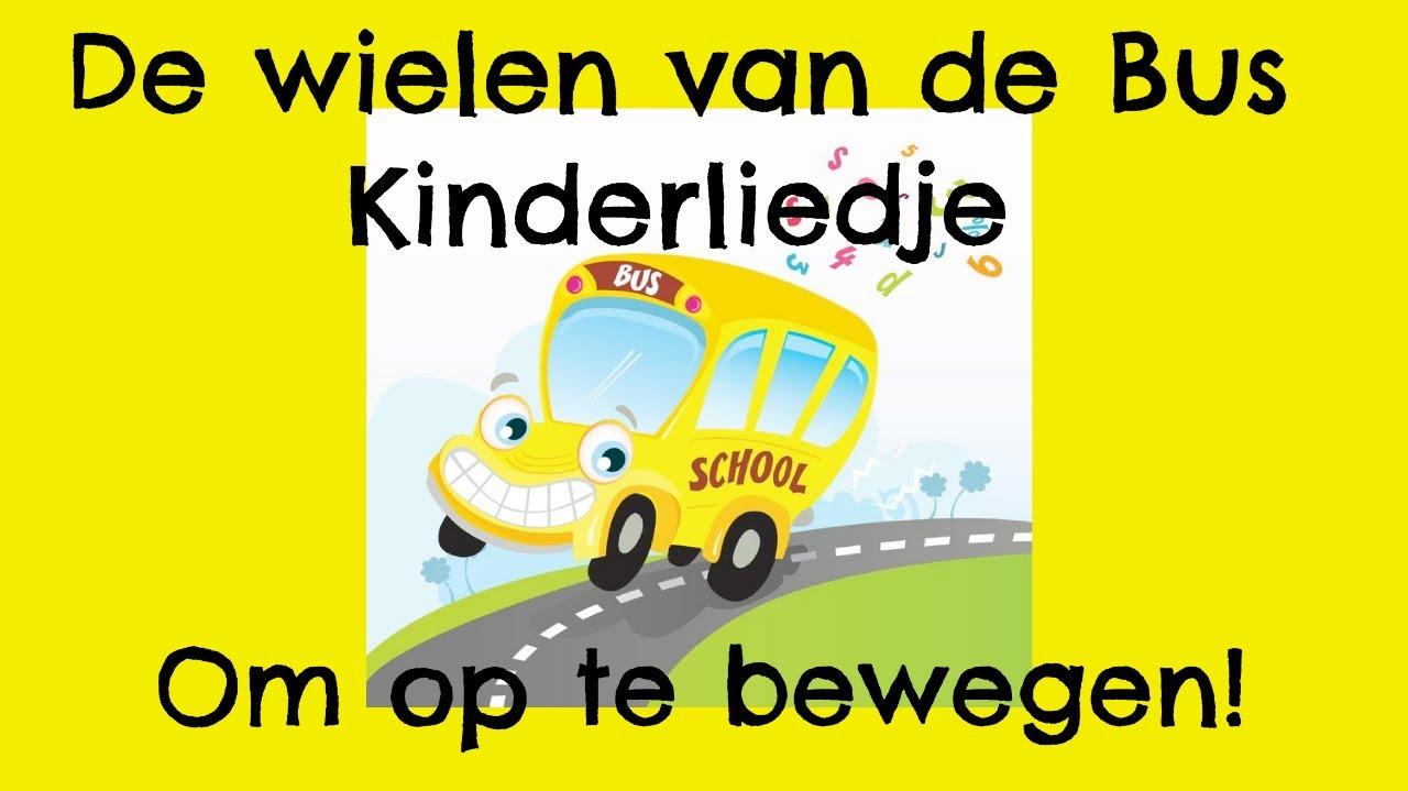 Kinderliedje De Wielen Van De Bus Voor Peuters Kleuters Kinderen