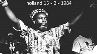 Burning Spear live @ utrecht holland (15 - 2 -1984)