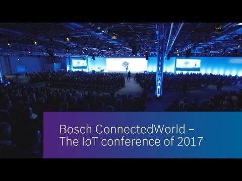 Bosch ConnectedWorld 2017 - Highlights of Day 1