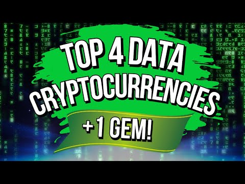 🚀 TOP 4 DATA FOCUSED CRYPTOCURRENCIES!! 🚀 [+1 New Gem]