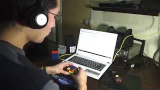 8.85 Rubiks Cube Promedio de 12 con StackMat- Leo Ibarra