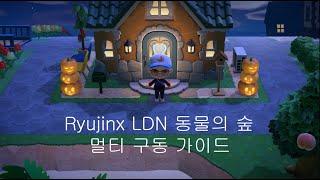 Ryujinx LDN 2.3 동물의 숲 멀티 구동 가이…