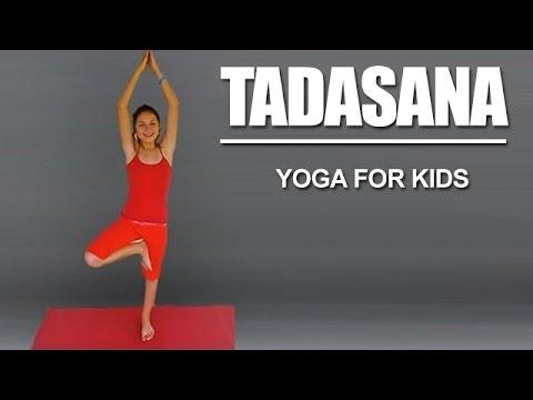 yoga for kids  tadasana  youtube