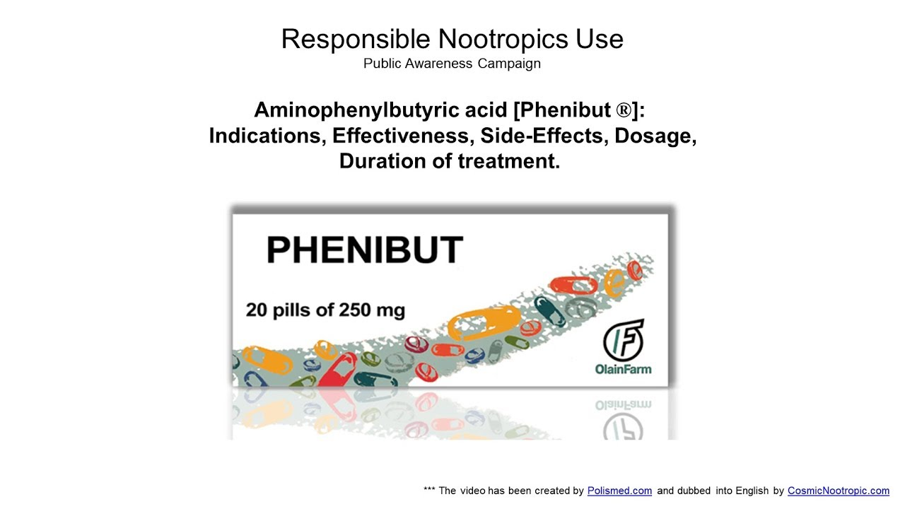 Drug Phenibut: reviews and use 60