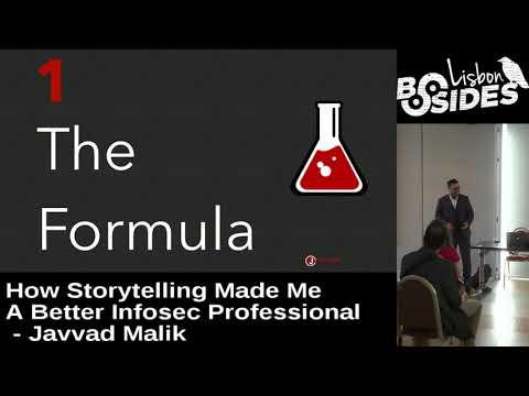 BSides Lisbon 2017 - Keynote: How storytelling made me a better infosec professional by Javvad Malik