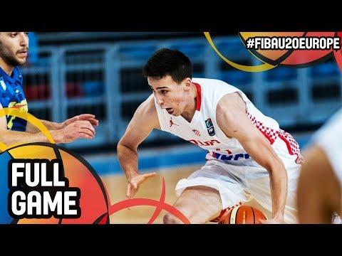 Croatia v Kosovo - Full Game - FIBA U20 European Championship 2017 - DIV B