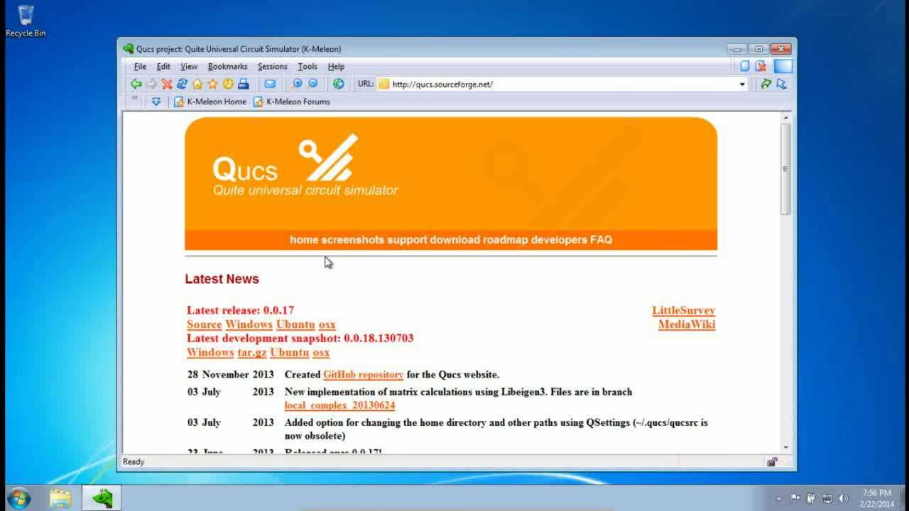 Qucs Install On Windows 7 Youtube Electronic Circuit Simulator Download