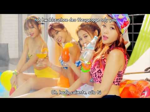 Girl's Day - Darling (Letra en español + Romanización)