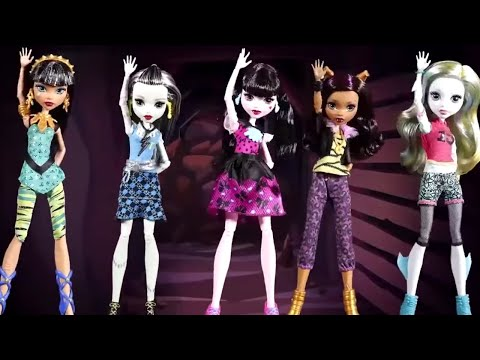 Monster High 🎵💜Music Video Compilation 🎵Monster High Songs for Kids | 4th of July Special
