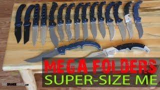 Cold Steel Mega Folding Knife Shootout (Bad to the Bone!) | OsoGrandeKnives Mp3