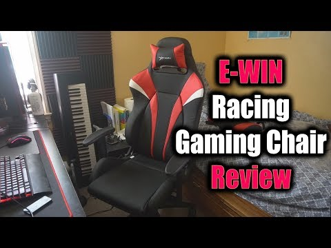 E-WIN RACING GAMING CHAIR REVIEW! COMFORT FOR ELITE GAMERS & NBA 2K PLAYERS!?